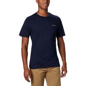 Columbia Rapid Ridge Back Graphic Camiseta Hombre, azul